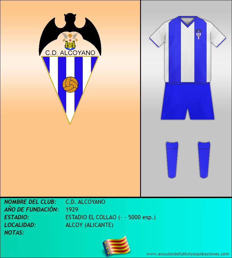 Escudo de C.D. ALCOYANO