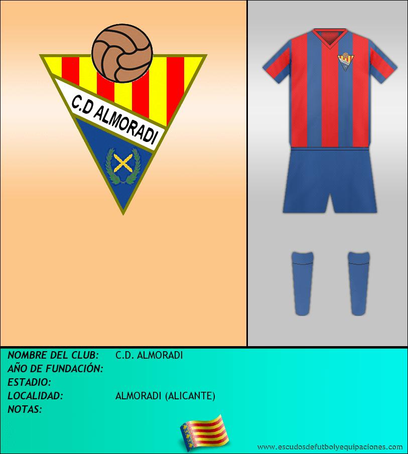Escudo de C.D. ALMORADI