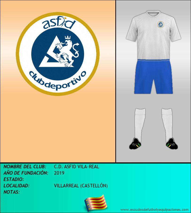 Escudo de C.D. ASFID VILA-REAL