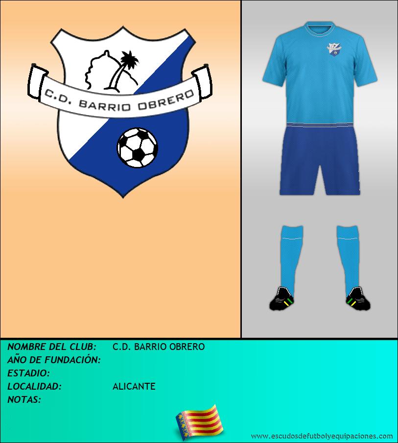 Escudo de C.D. BARRIO OBRERO