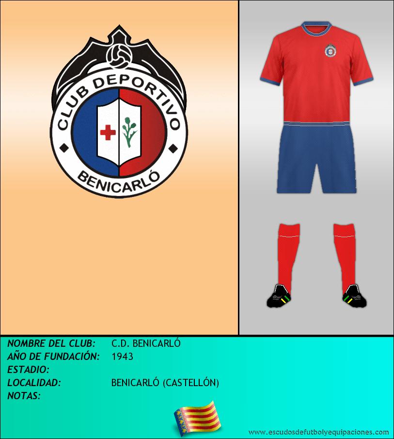 Escudo de C.D. BENICARLÓ