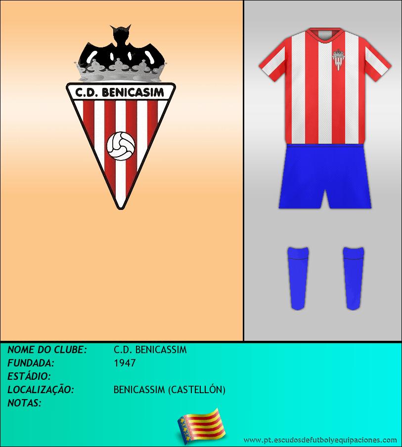 Escudo de C.D. BENICASSIM
