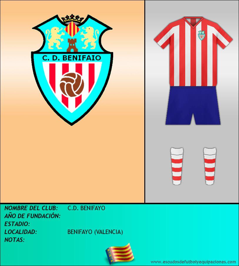 Escudo de C.D. BENIFAYO