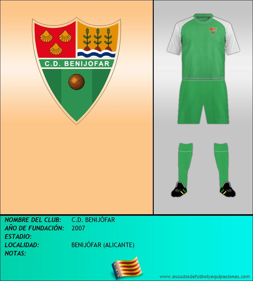 Escudo de C.D. BENIJÓFAR