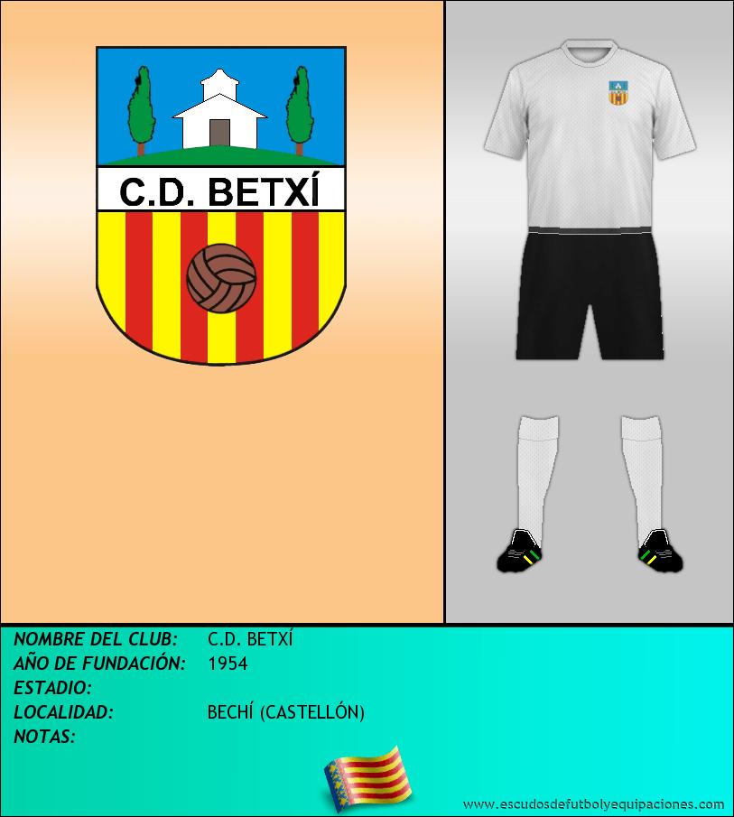 Escudo de C.D. BETXÍ