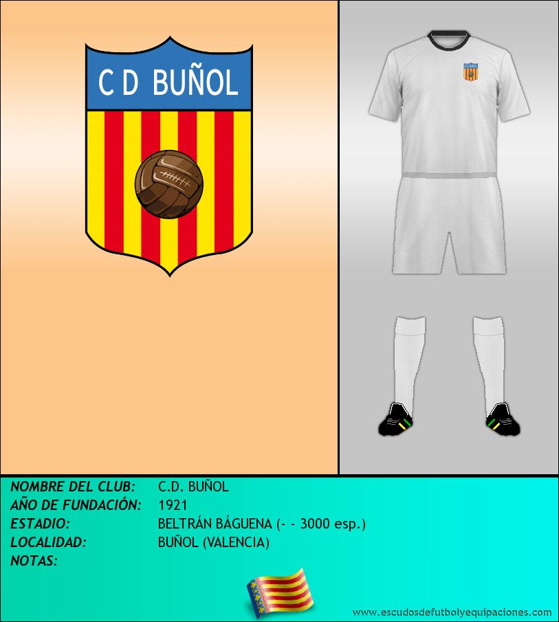 Escudo de C.D. BUÑOL