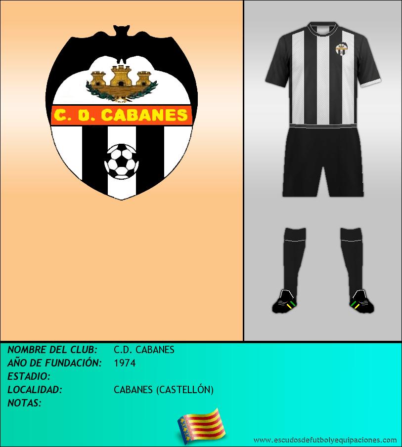 Escudo de C.D. CABANES
