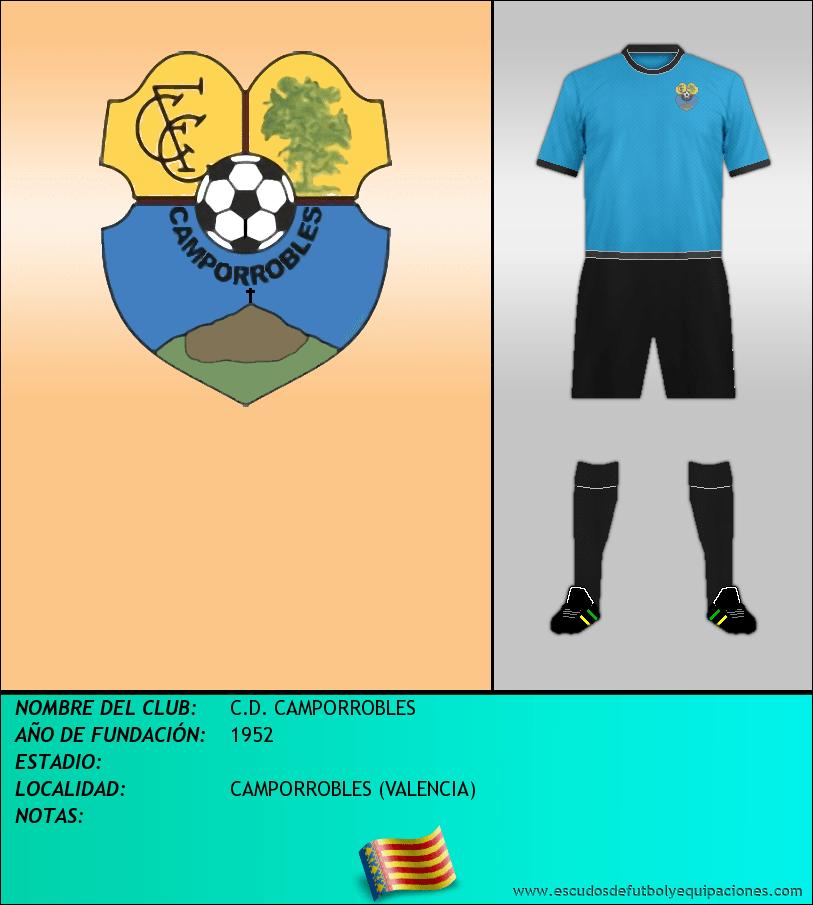 Escudo de C.D. CAMPORROBLES