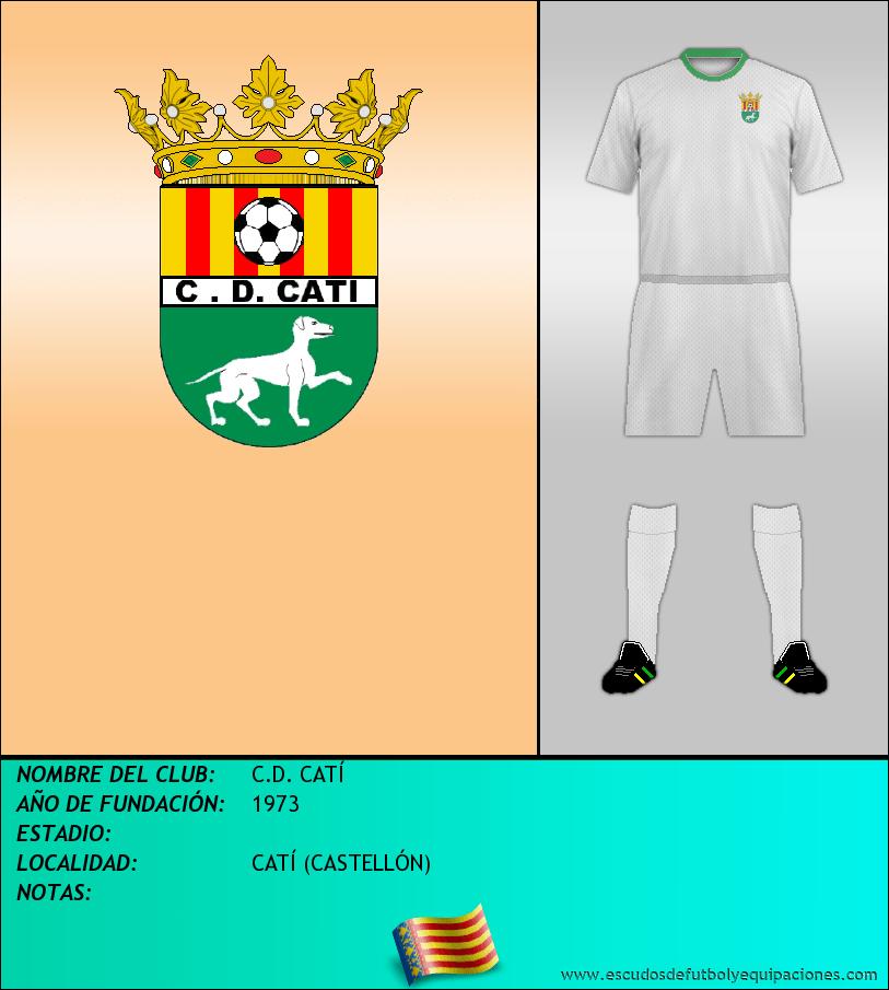 Escudo de C.D. CATÍ