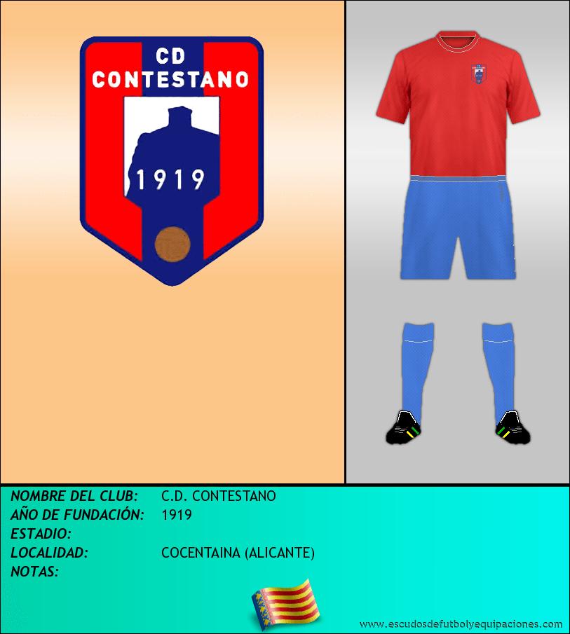 Escudo de C.D. CONTESTANO