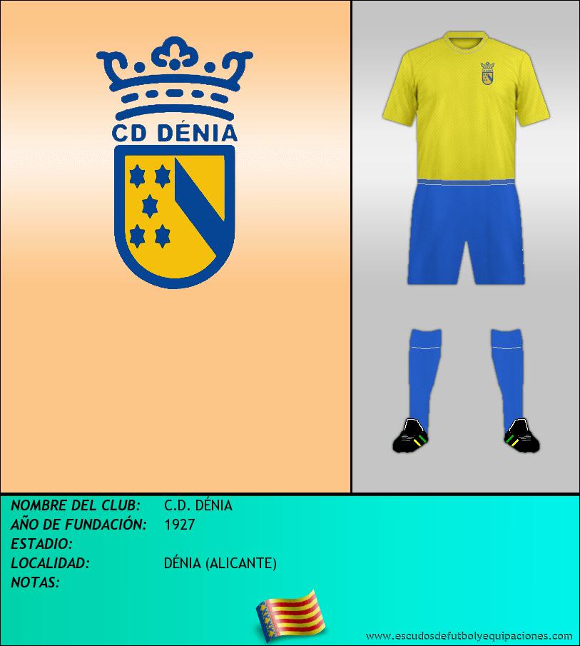 Escudo de C.D. DÉNIA