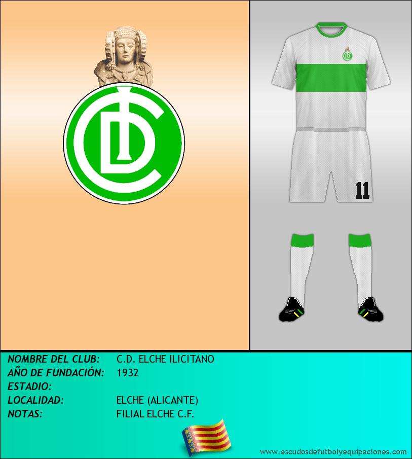 Escudo de C.D. ELCHE ILICITANO