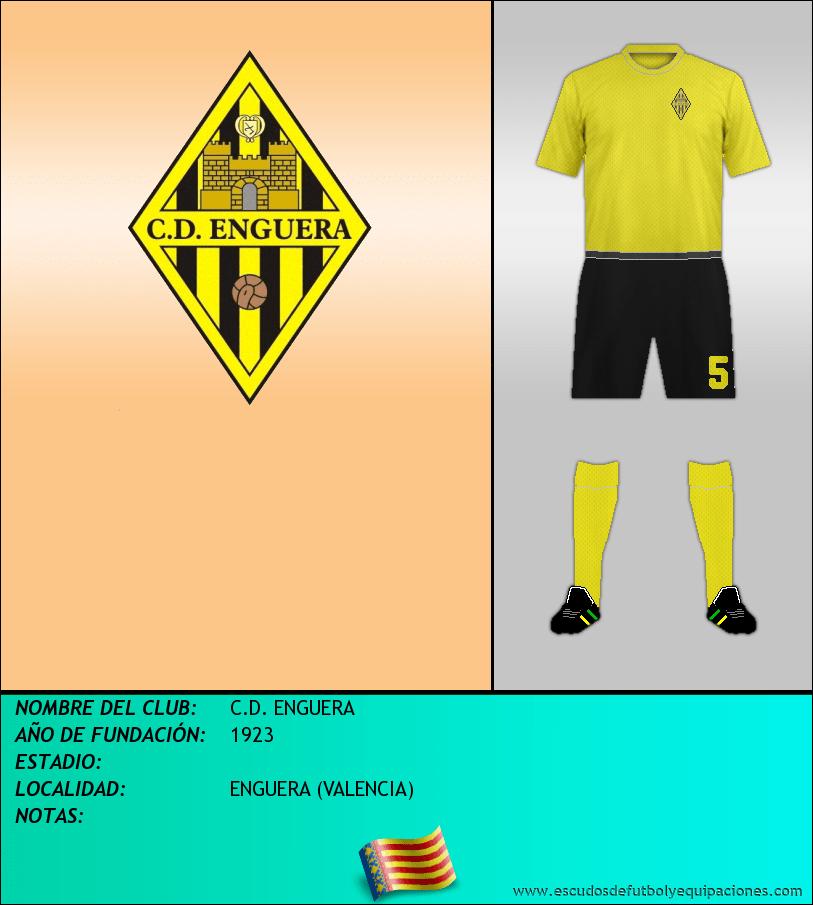 Escudo de C.D. ENGUERA