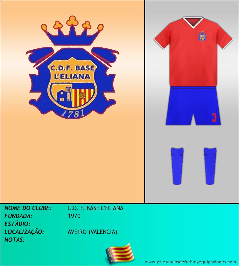Escudo de C.D. F. BASE L'ELIANA