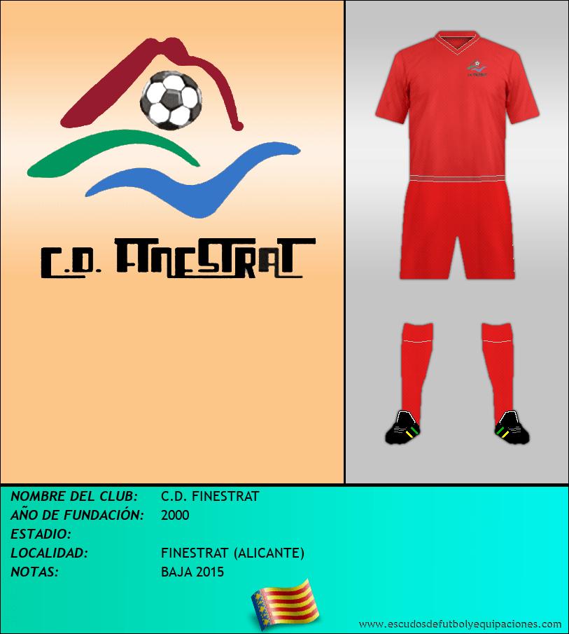 Escudo de C.D. FINESTRAT