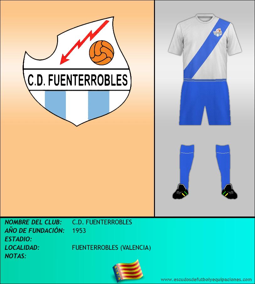 Escudo de C.D. FUENTERROBLES