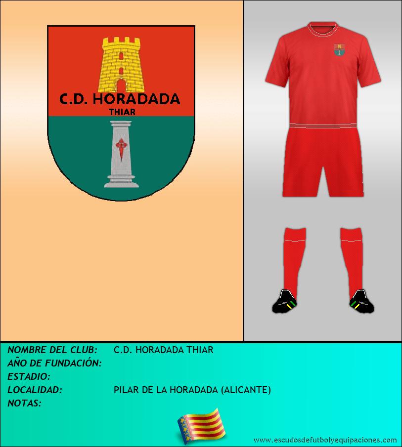 Escudo de C.D. HORADADA THIAR