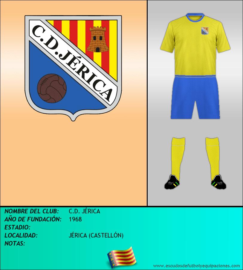 Escudo de C.D. JÉRICA
