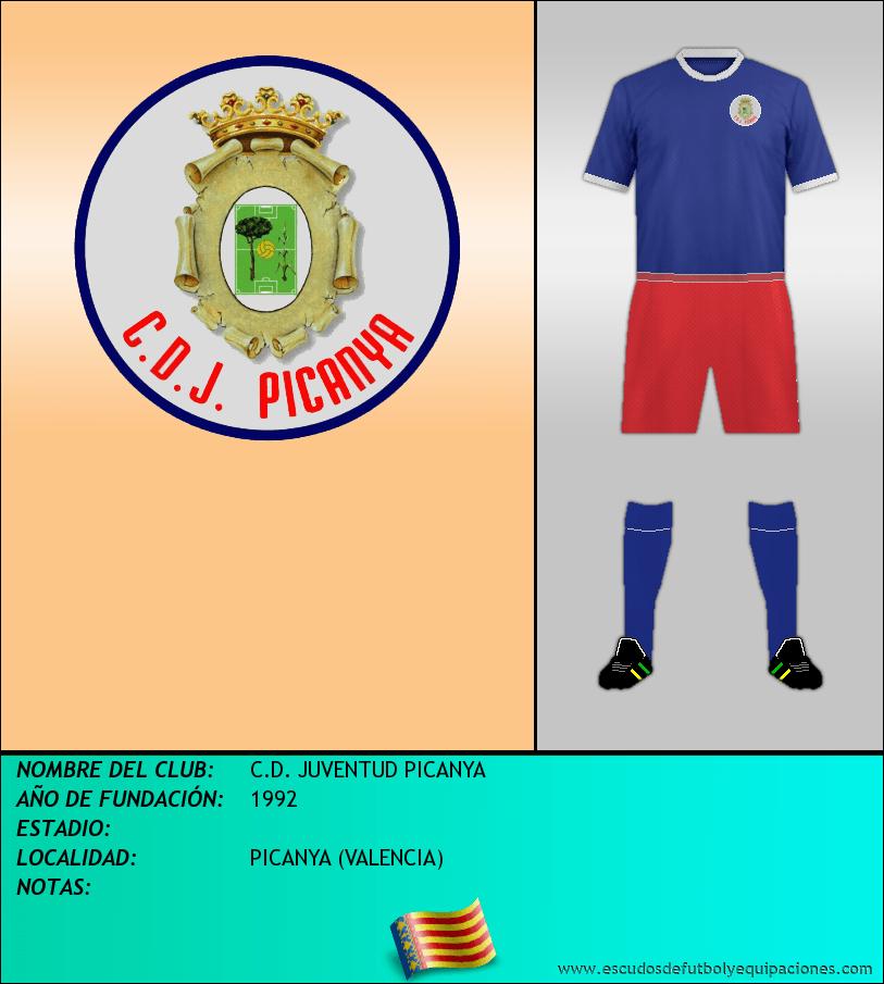 Escudo de C.D. JUVENTUD PICANYA