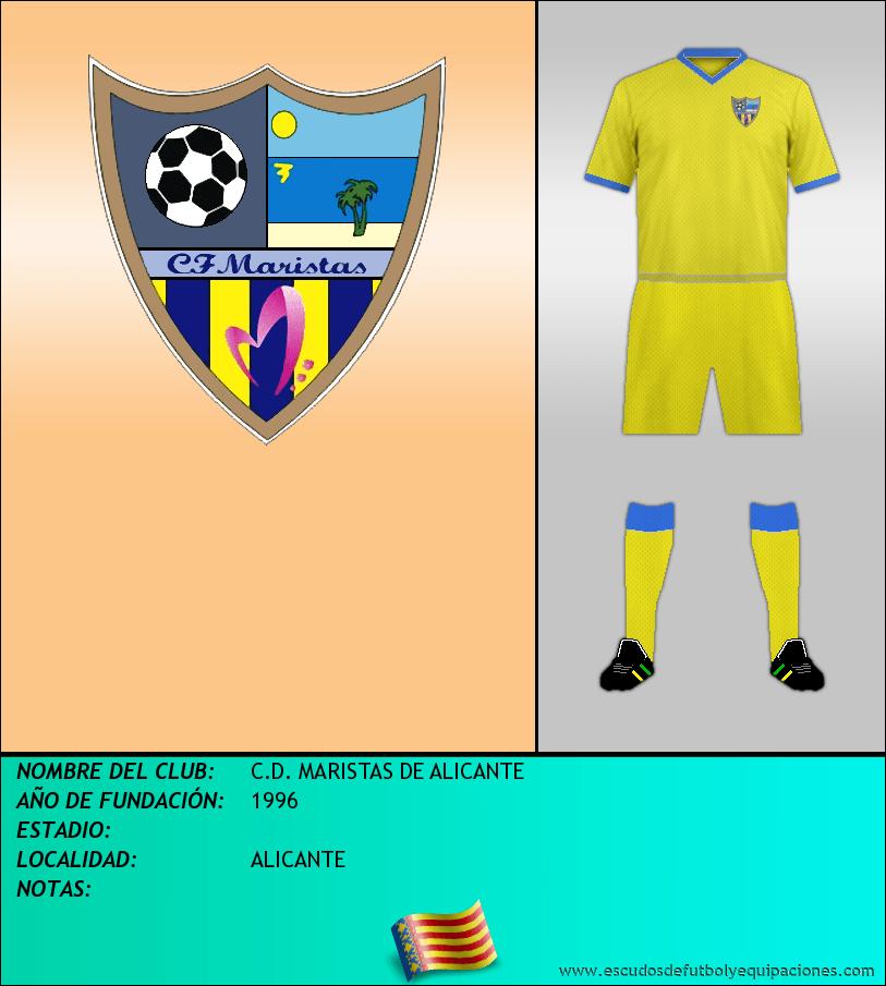 Escudo de C.D. MARISTAS DE ALICANTE