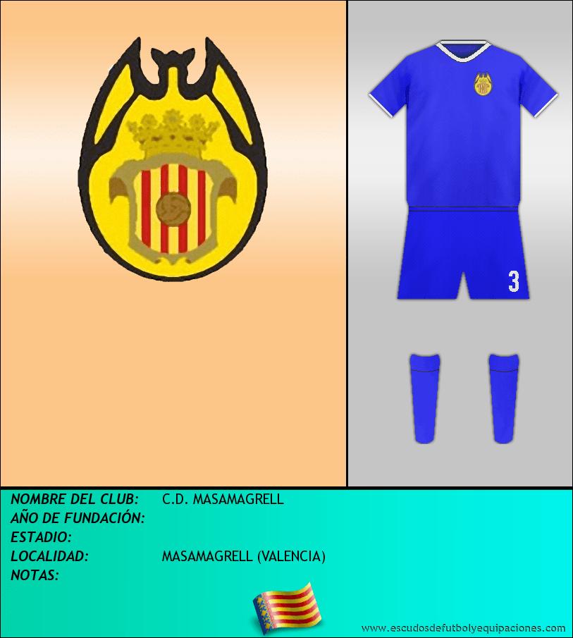 Escudo de C.D. MASAMAGRELL