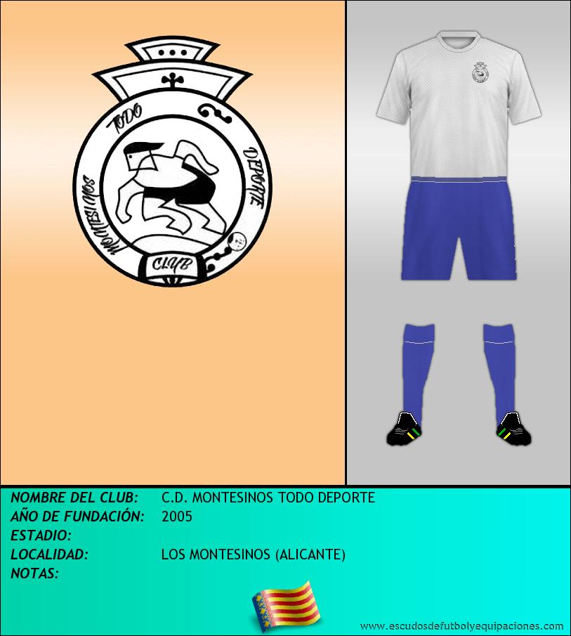 Escudo de C.D. MONTESINOS TODO DEPORTE