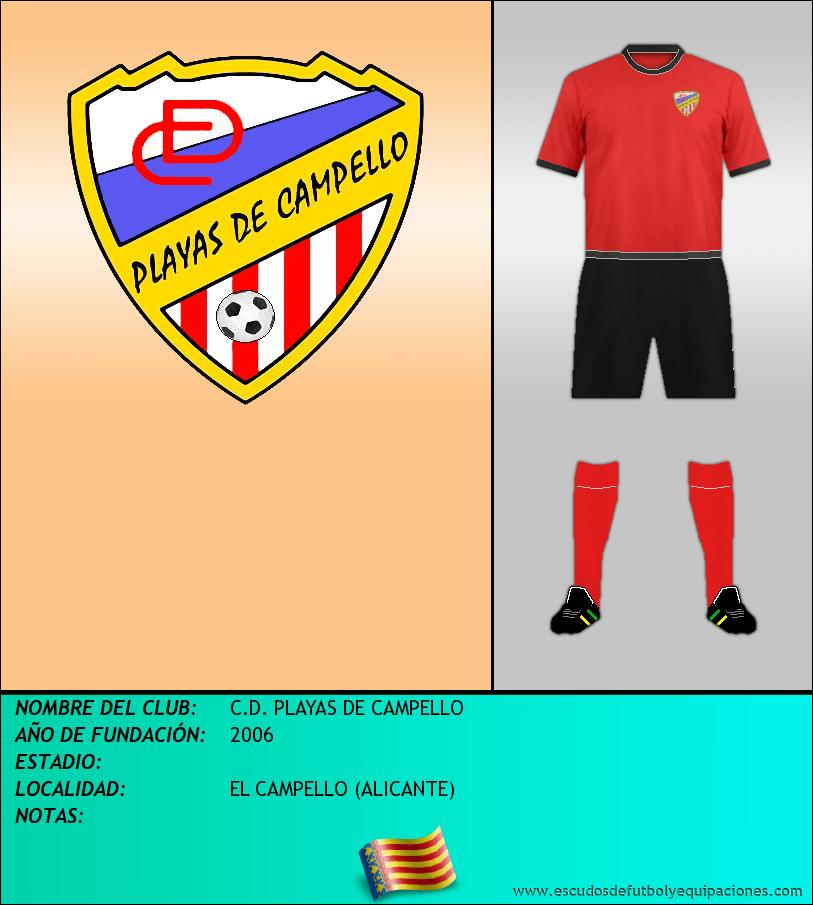 Escudo de C.D. PLAYAS DE CAMPELLO