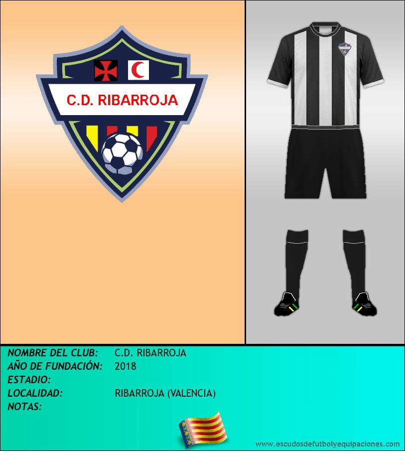 Escudo de C.D. RIBARROJA