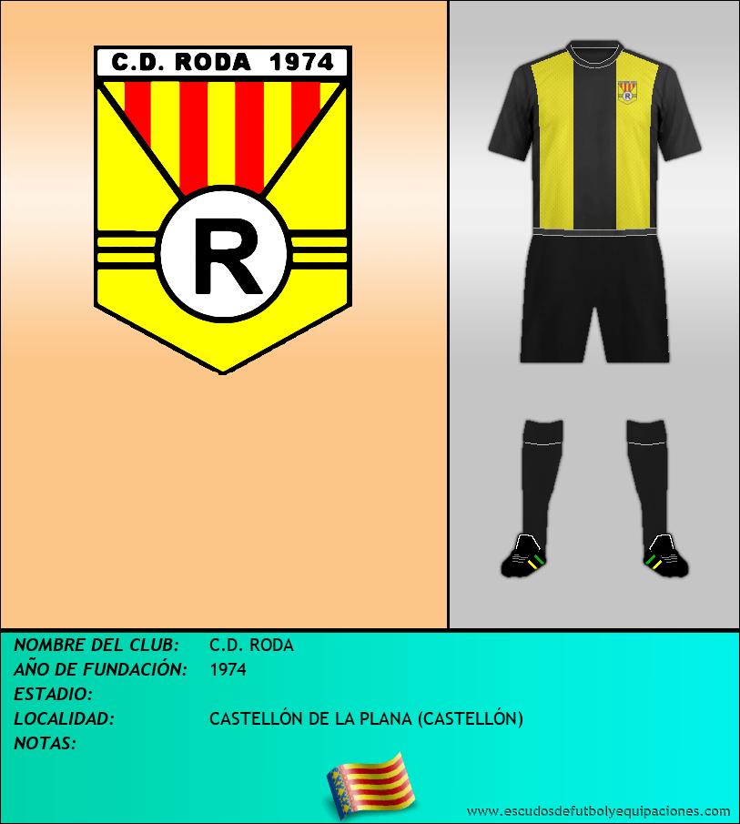 Escudo de C.D. RODA