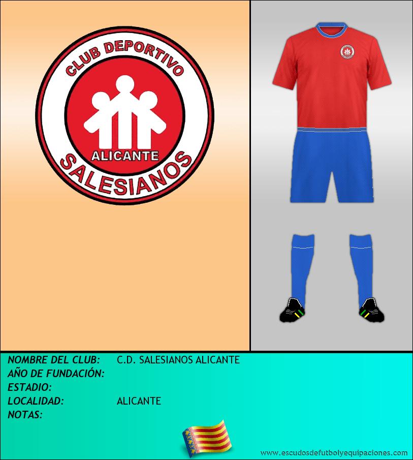 Escudo de C.D. SALESIANOS ALICANTE