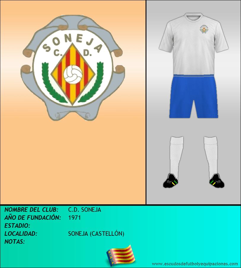 Escudo de C.D. SONEJA
