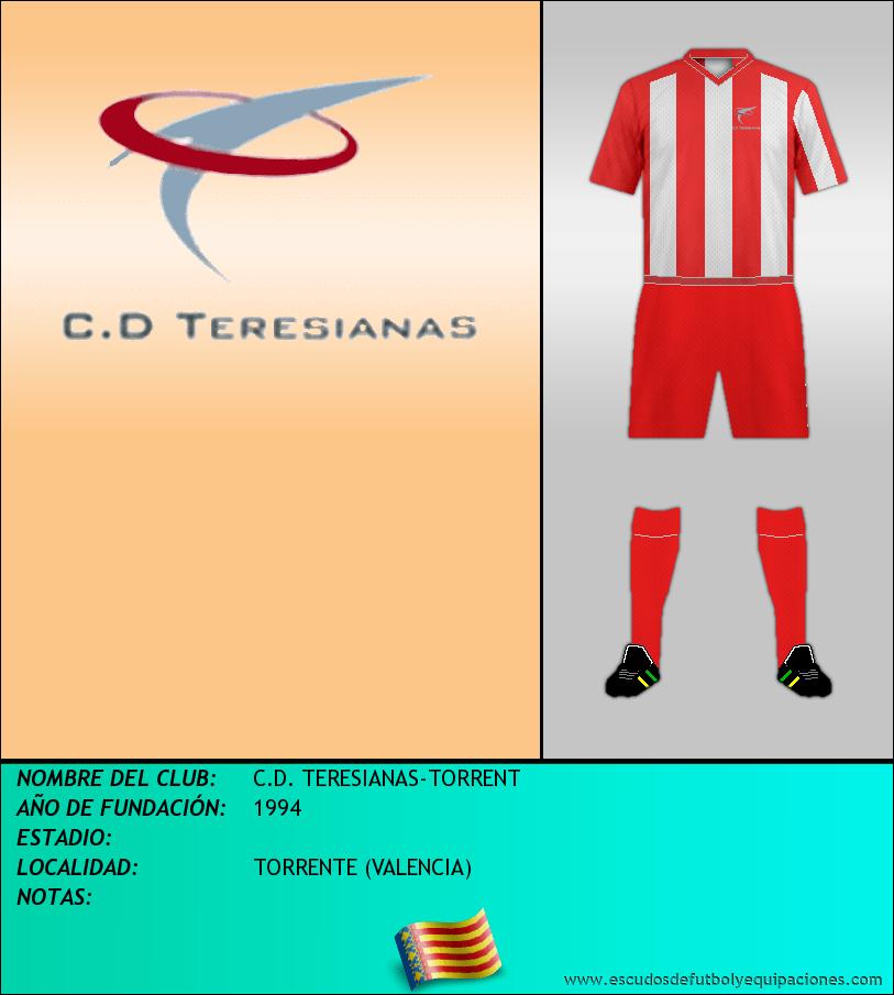 Escudo de C.D. TERESIANAS-TORRENT