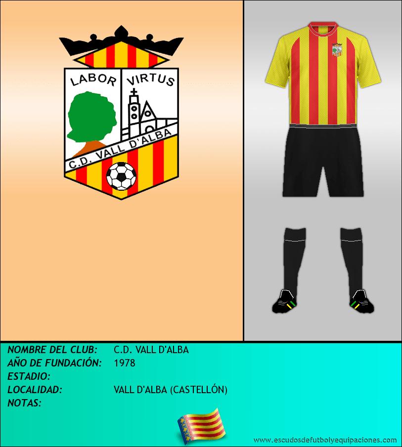 Escudo de C.D. VALL D'ALBA