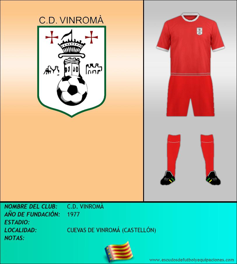 Escudo de C.D. VINROMÀ
