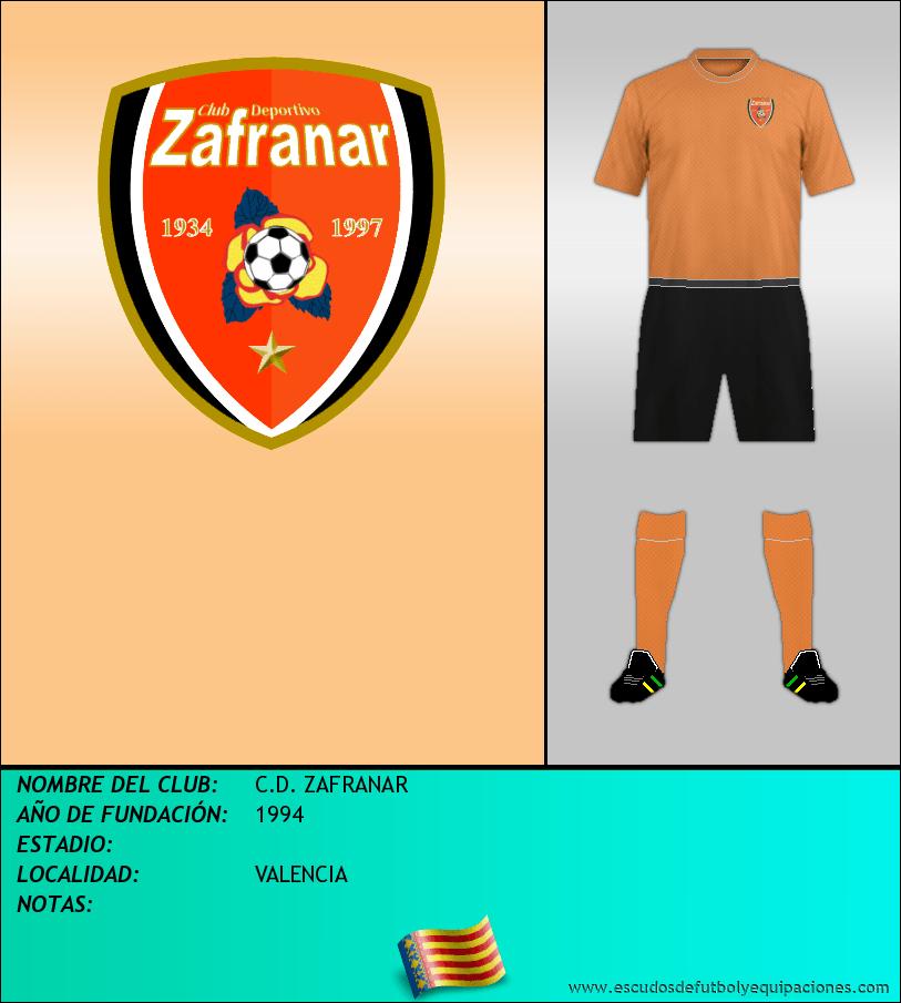 Escudo de C.D. ZAFRANAR