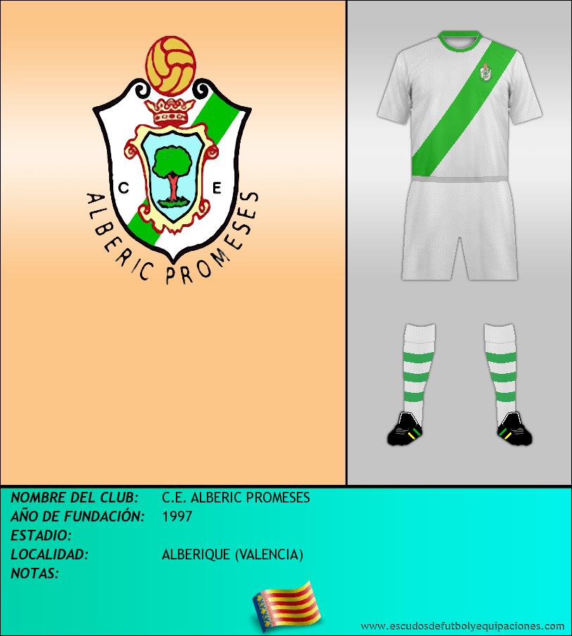 Escudo de C.E. ALBERIC PROMESES