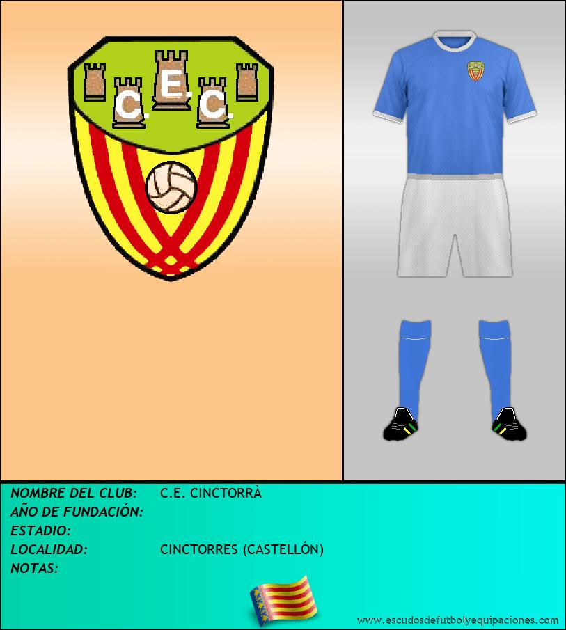 Escudo de C.E. CINCTORRÀ