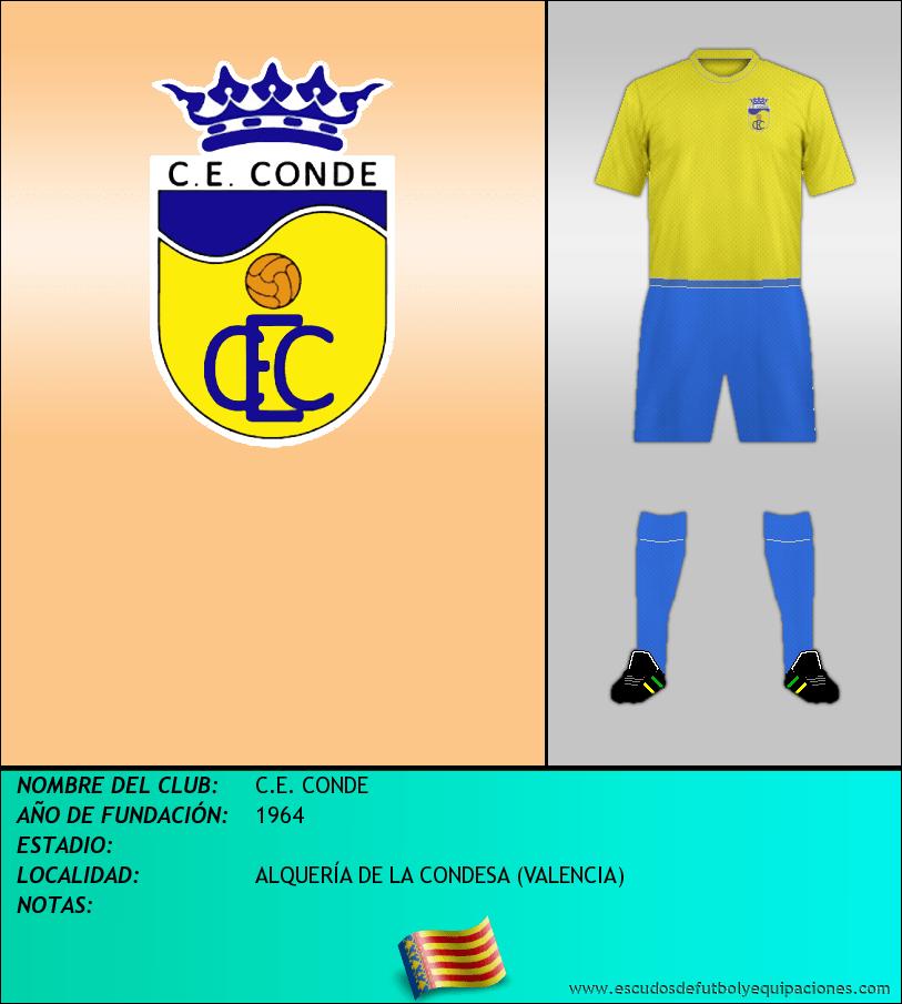Escudo de C.E. CONDE