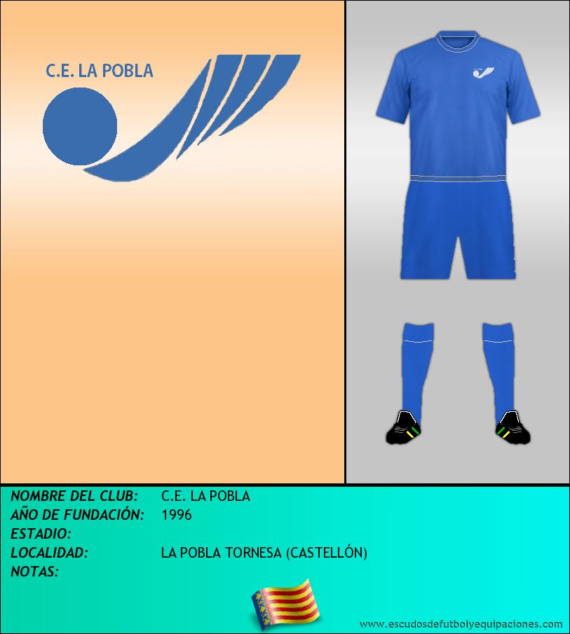Escudo de C.E. LA POBLA