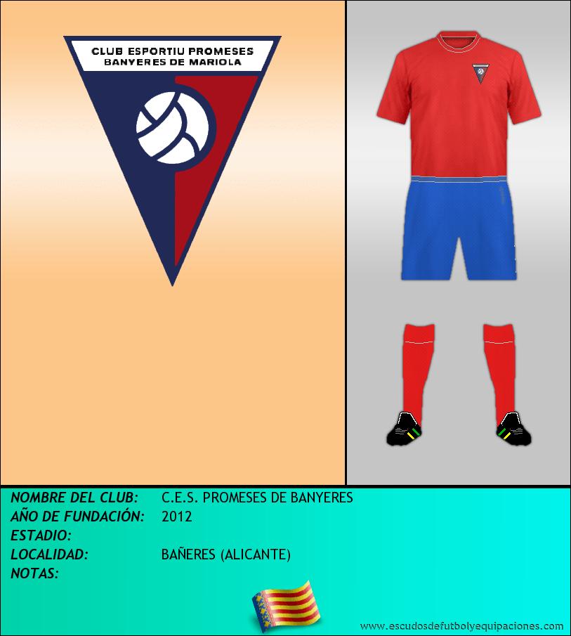 Escudo de C.E.S. PROMESES DE BANYERES