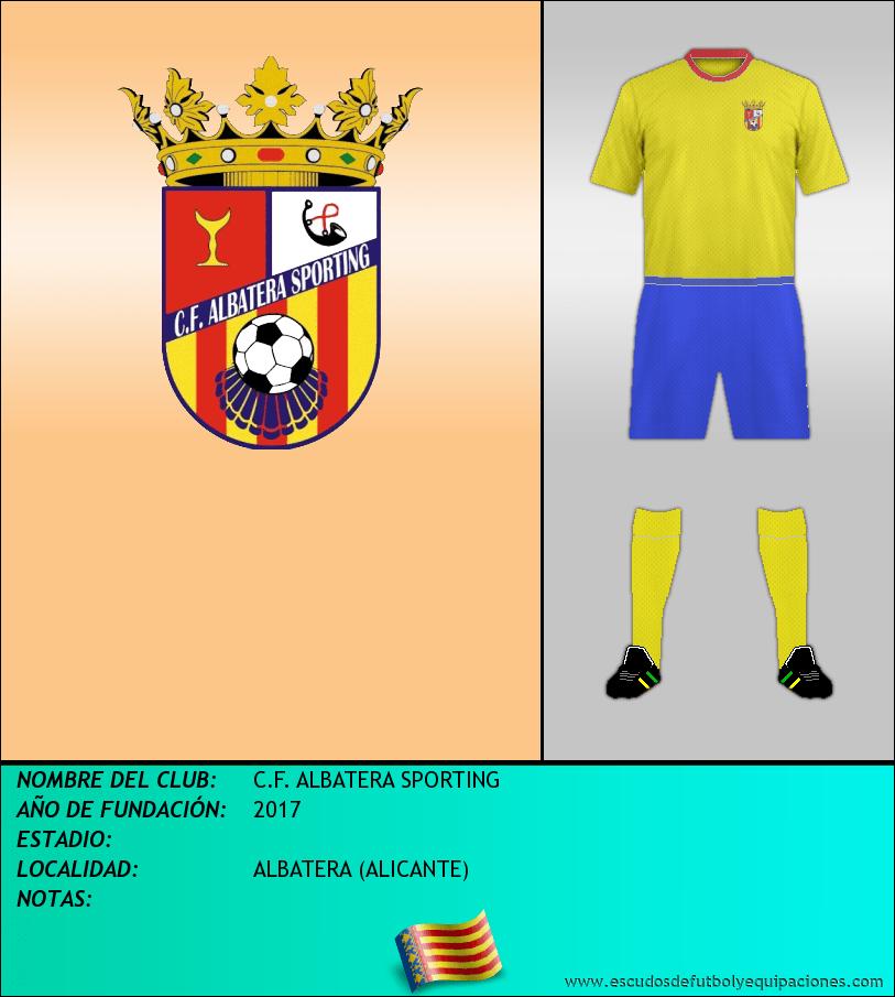 Escudo de C.F. ALBATERA SPORTING