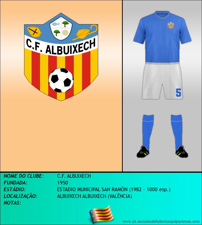 Escudo de C.F. ALBUIXECH