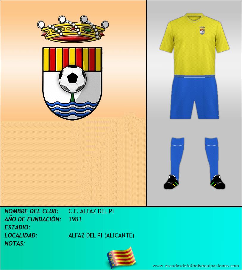Escudo de C.F. ALFAZ DEL PI