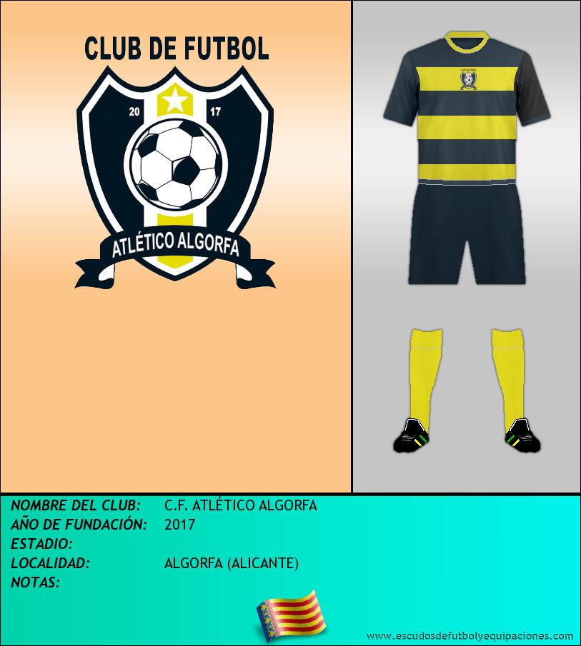 Escudo de C.F. ATLÉTICO ALGORFA