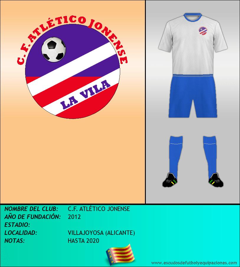 Escudo de C.F. ATLÉTICO JONENSE