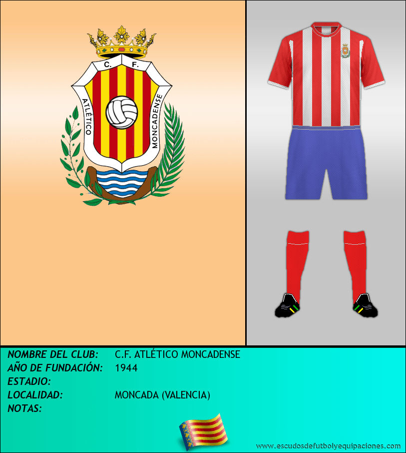 Escudo de C.F. ATLÉTICO MONCADENSE
