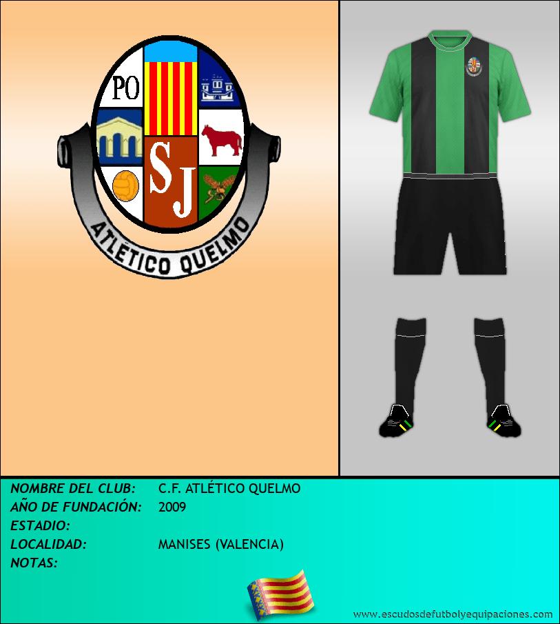 Escudo de C.F. ATLÉTICO QUELMO