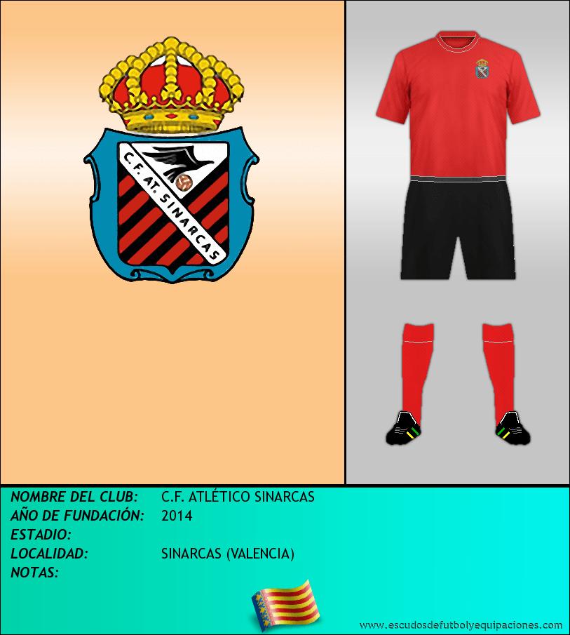 Escudo de C.F. ATLÉTICO SINARCAS