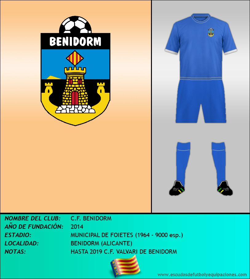 Escudo de C.F. BENIDORM