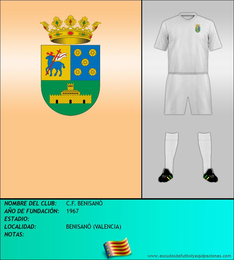 Escudo de C.F. BENISANÓ